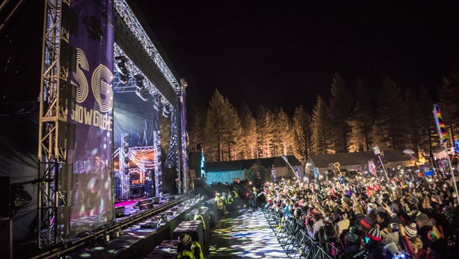 The SnowGlobe Music Festival runs Dec. 29-31, 2018.