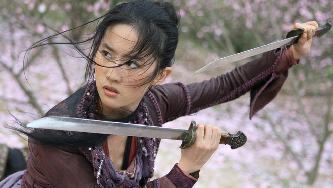 Crystal Liu in a scene from the motion picture 'The Forbidden Kingdom.'