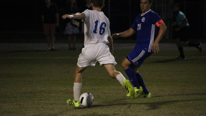 Scenes from Cape Coral's 3-0 boys soccer win over Canterbury on Monday, Dec. 18.