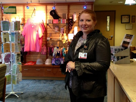 Mary Whitenack, manager of the Cancer Center Boutique.