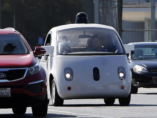 Driverless cars of the future confront regulations written for drivers
