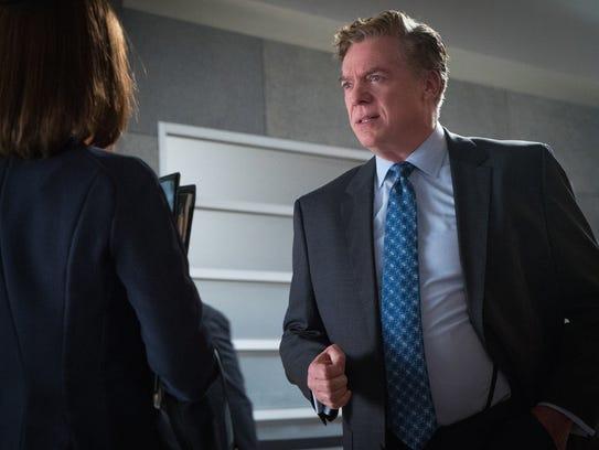 Alicia argues against Judge Schakowsky (Christopher