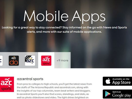 azcentral apps