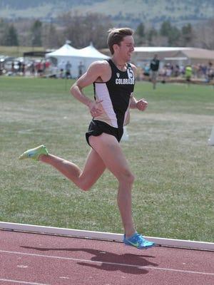 Morgan Pearson, a Delbarton graduate from New Vernon, is a distance runner at Colorado.