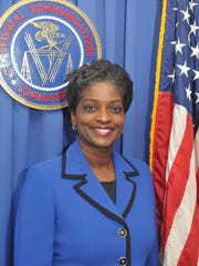 FCC Commissioner Mignon Clyburn speaks at FAMU's fall commencement  Friday.