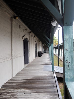 Tallahassee's Amtrak rail station located on Railroad Avenue.