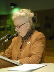 In this file photo, Ellen Boylan Delosh speaks to the Clifton City Council. She plans to continue her advocacy in 2018.