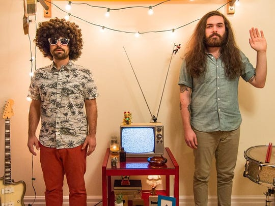 The Asbury Park indie duo Yawn Mower will release their
