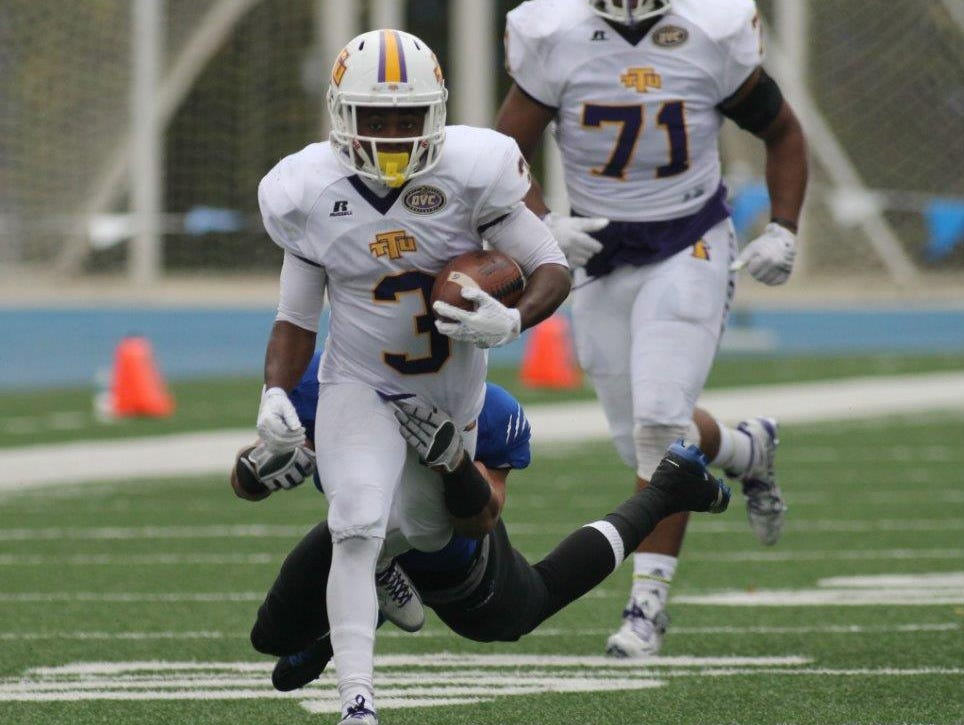 Former Maplewood and Tennessee Tech running back Ladarius Vanlier hopes to be selected in the NFL Draft later this month.