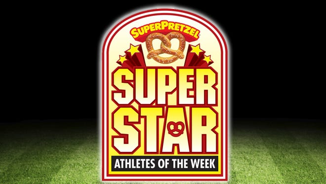 The SuperPretzel Super Star Athletes of the Week feature highlights two outstanding athletes each week.