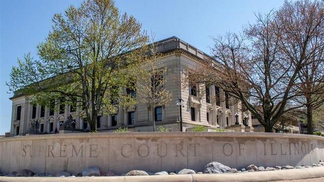The Illinois State Supreme Court building.