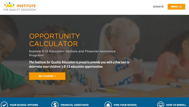 Institute for Quality Education website.