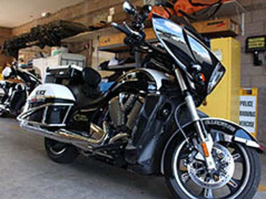 This motorcycle is part of a fleet for which the Oro