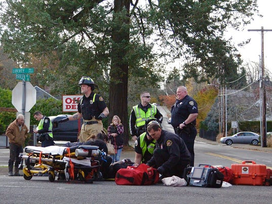 Bicyclist sent to hospital after getting hit by car
