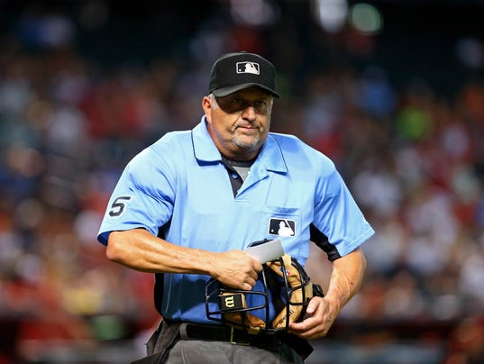 Mlb umpire assignments today