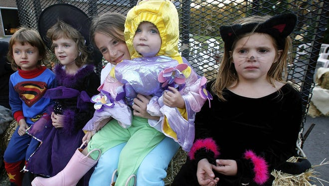 Trick or treat times are set in Alexandria/Pineville.