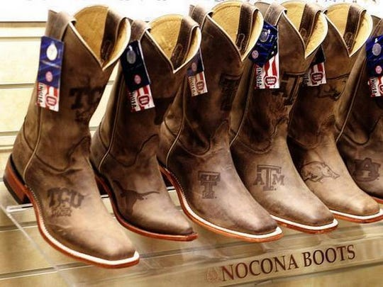 Boots made by Justin Brands.