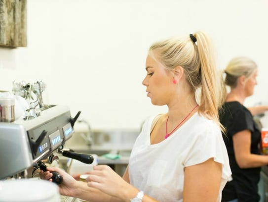Baristas are in one of the fastest-growing job sectors.