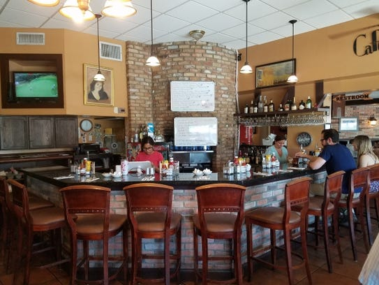 Inside Maria's Cafe in Stuart.