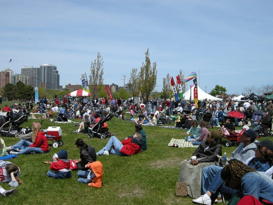 Join the crowds at Mots International Kite Festival