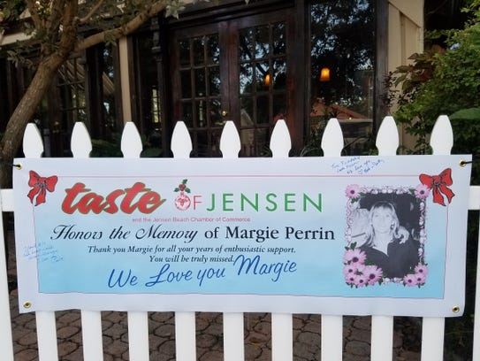 This year's Taste of Jensen was dedicated to the Margie