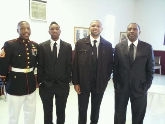Gordon men while Evan was at Hargrave Military - Blurry.JPG