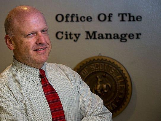 Scottsdale City Manager Fritz Behring