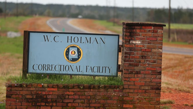 Officials say three inmates were stabbed during the initial fight, and all three are expected to survive.