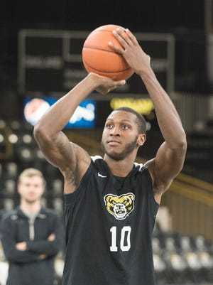 Isaiah Brock is leaving the Oakland men's basketball program after one season to focus on his studies.