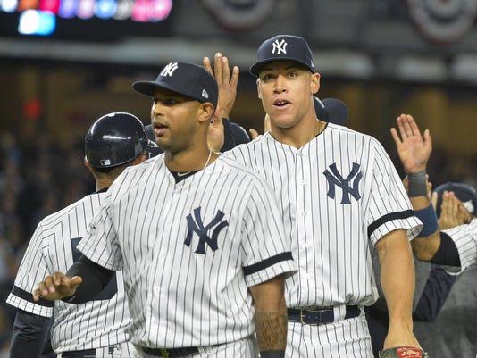 ALCS Game 5: Houston at NY Yankees