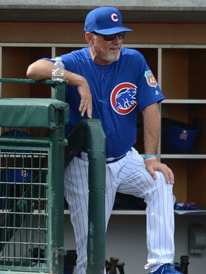 Joe Maddon, an early adaptor of analytics and technology, will now have an officially licensed dugout companion - an iPad.