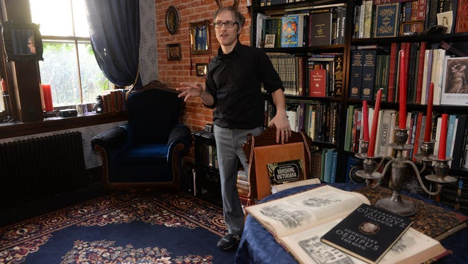 Owner Brian Bonfiglio talks about renovation work he's done inside his 1893 Victorian house.
