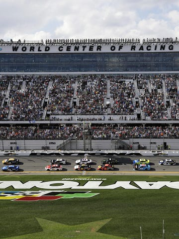 Daytona International Speedway will allow a limited number of fans in for next month's Road Course doubleheader.