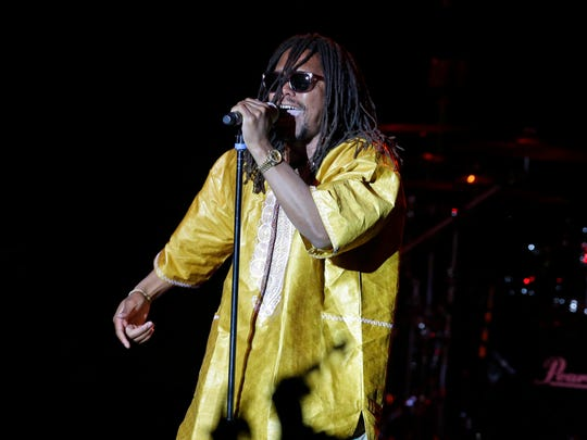 Lupe Fiasco performs at the Miller Lite Oasis at Summerfest on July 3.