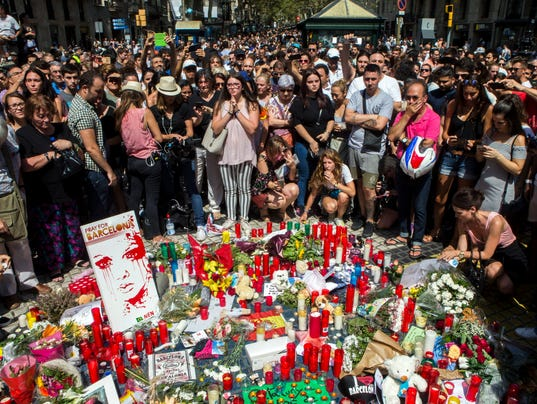 EPA EPASELECT SPAIN BARCELONA VEHICLE ATTACK AFTERMATH WAR ACTS OF TERROR ESP CA