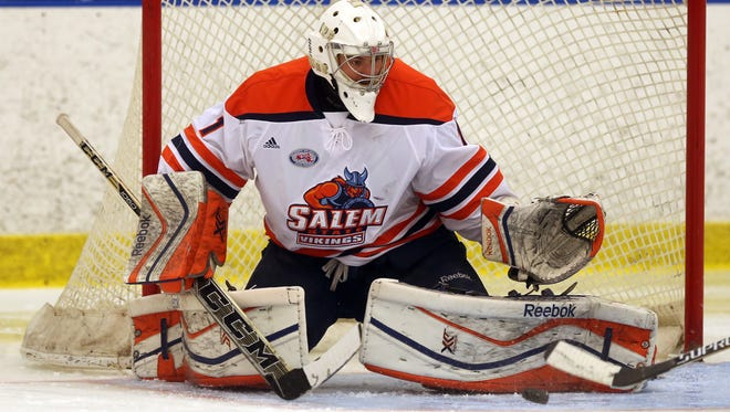 Salem State (Mass.) University goalie and Green Bay native Marcus Zelzer was a finalist this year for the Sid Watson Award, which awarded to the best NCAA Division III men's hockey player in the nation.