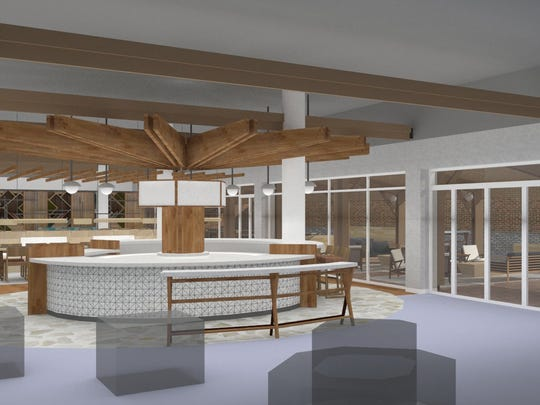 The store will have an assortment of books, expanded seating and open spaces for in-store events. It will have a full-service restaurant, which will serve alcohol. It will also have an outdoor space with elements such as a bocce court, fire pit and outdoor seating.
