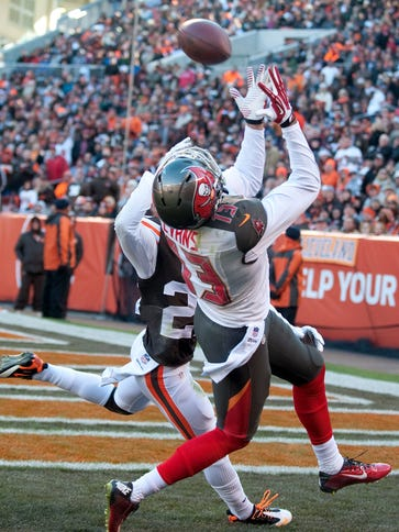Nov 2, 2014; Cleveland, OH, USA; Tampa Bay Buccaneers