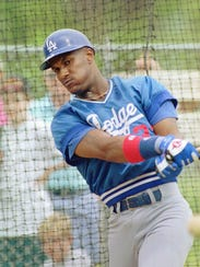 Eric Davis played for the Dodgers from 1992-93.