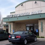 The Federal Deposit Insurance Corp. has fined four people involved in the 2009 collapse of Greeley's New Frontier Bank $545,000 after a bank failure that cost the FDIC almost $1 billion.