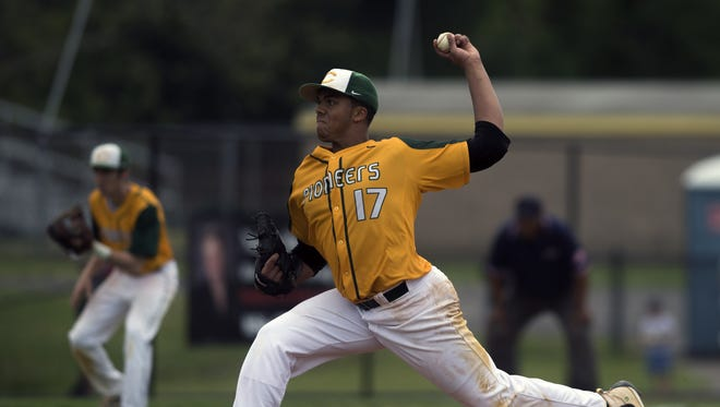An All-South Jersey selection, Kenny Mendoza of Clearview signed with the Texas Rangers and will begin life as a professional in the Arizona Rookie League.