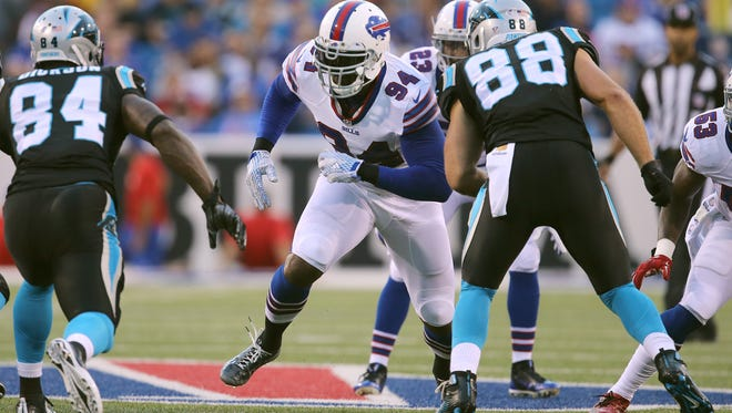 Mario Williams has been at the center of the Bills' recent locker room discontent.