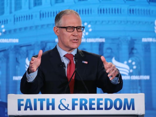 EPA Administrator Scott Pruitt Addresses Faith And Freedom Coalition Conf.