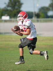Pace High School football practice on Wednesday, August 3, 2016.