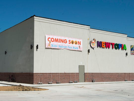 Exterior of Newtopia, an indoor playground facility