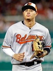Manny Machado was the starting shortstop for the AL