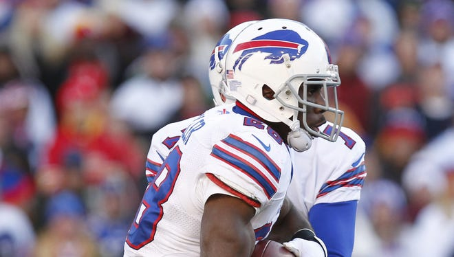 C.J. Spiller and the Buffalo Bills face the Jaguars in Jacksonville on Sunday.