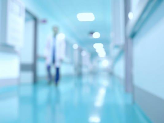 istock hospital hallway