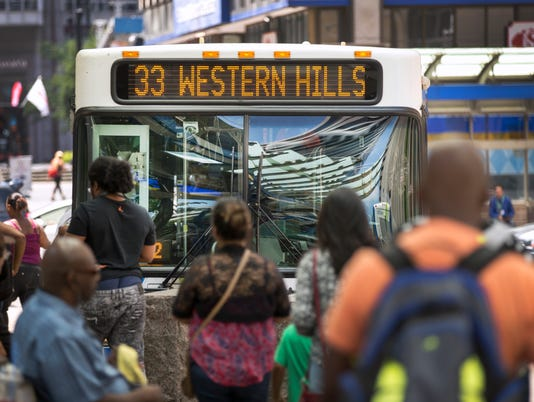 The Metro bus system serves Hamilton County, with access to Clermon, Butler and Warren counties.