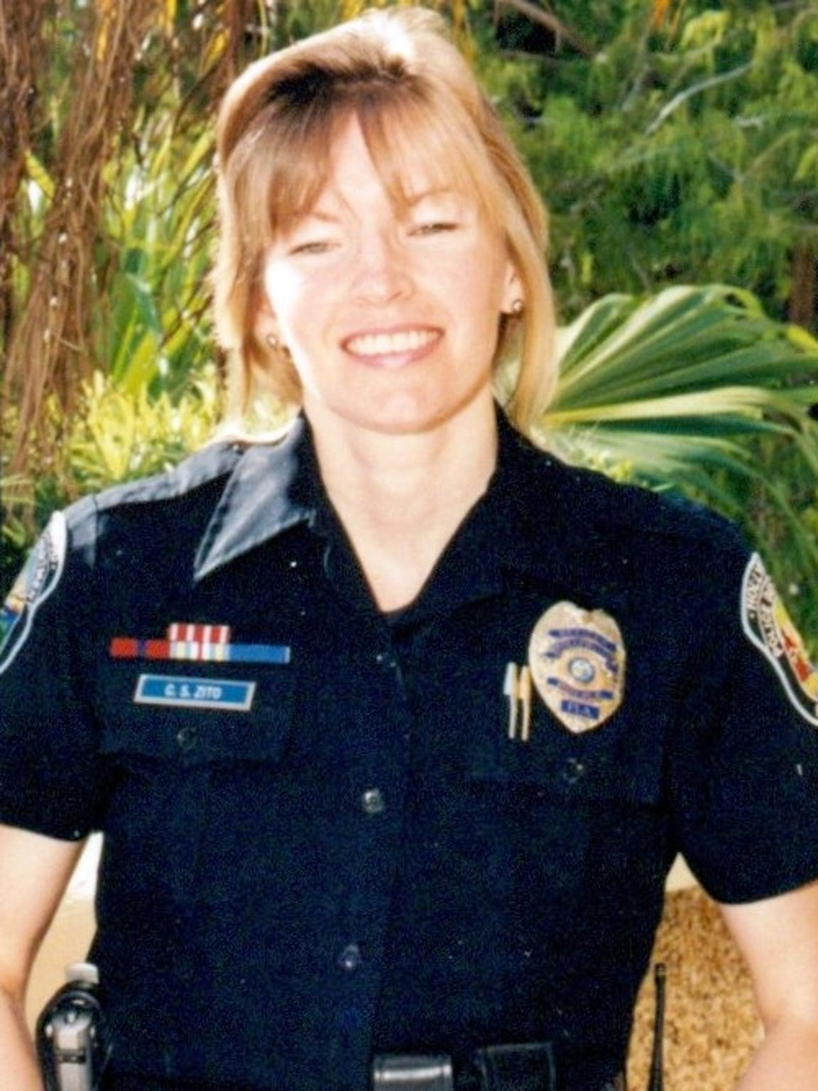 Carol Stiers Zito, a former police officer, ended her